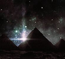 Pyramid Nights by cyanidedesigns