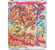 Pokemon Autumn Scene! iPad Case/Skin