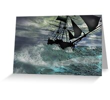Summer Gale Greeting Card