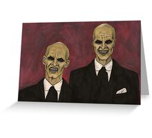 Hush - The Gentlemen - BtVS Greeting Card
