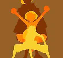 Luffy Evolution by AlexKramer