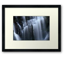 Silken Illuminance Framed Print