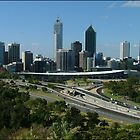 Perth Skyline by SoftParade