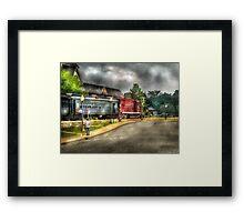Black River Western Framed Print