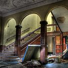 Arched Stairway by Richard Shepherd