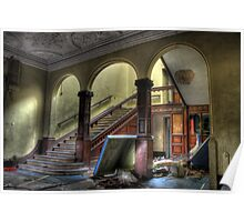 Arched Stairway Poster