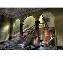 Arched Stairway Photographic Print