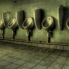 Toilets are cleaned hourly by Richard Shepherd