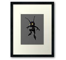 iShadow (Kindgom Hearts) Framed Print