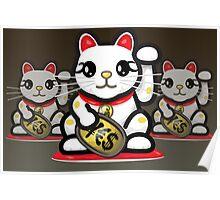 Maneki Neko - Money Cat - ¥€$ Poster