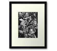 sons of anarchy Framed Print