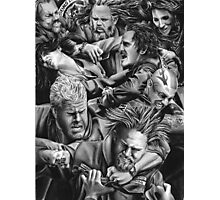 sons of anarchy Photographic Print