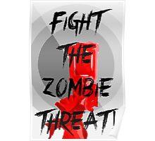 Anti-Zombie Propaganda Poster