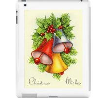Christmas Wishes - Christmas Card iPad Case/Skin