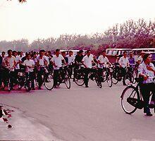 Beijing traffic jam anno 1977! by jensNP