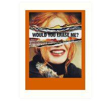 Eternal Sunshine of the Spotless Mind - Clementine Art Print