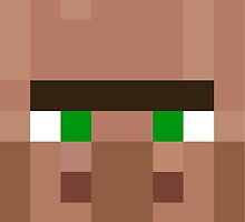 Minecraft villager by smushes