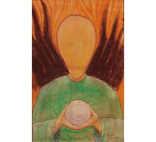 alien angel  Photographic Print