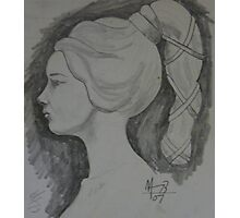 this is princess no. 2 drawing Photographic Print