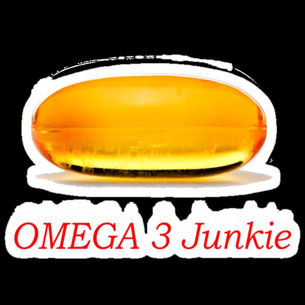 Omega 3 Junkie by Frank Yuwono