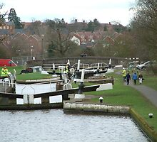Hatton Locks  by rodgeyrog