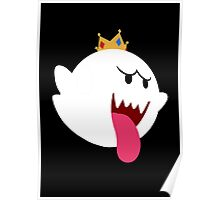 King Boo! Simplistic Design Poster
