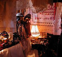 Junkshop tent of jewels by megankerr