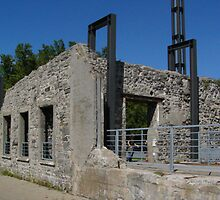 The Old Mill on Riviere des Prairies by Moxy