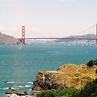 Lands End Trail, GG bridge by stephen hewitt