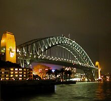 the coathanger at night by kev howlett