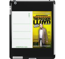 King Kaufman: The Passion of Lloyd (2008) - Movie Poster Postcard iPad Case/Skin