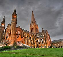 Sacred Heart Cathedral 2 by Ross Jardine