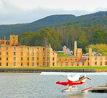 Memories of New And Old - Port Arthur Historic Site, Tasmania Australia by Philip Johnson