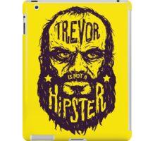 Hipster Trevor iPad Case/Skin