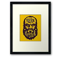 Hipster Trevor Framed Print