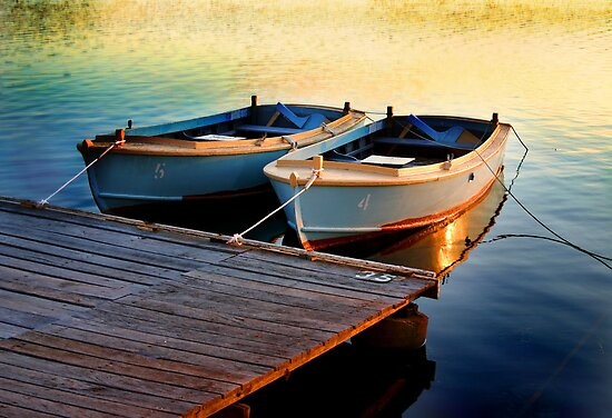 Two Boats by Annette Blattman