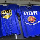 ddr and fdj - east berlin shirts by fuxart
