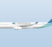 Wings In Uniform - A330 - Garuda Indonesia by nADerL