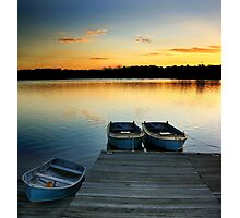 Three Boats Photographic Print