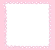 Lolita Pink Kawaii Border by MLPDarkAngel