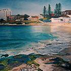 Cronulla Beach by Kim O'Malley