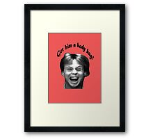 The Karate Kid: Get Him A Body Bag! Framed Print