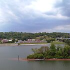 Panoramic view of north shore Chattanooga Tennessee by  Joe  Beasley IPA