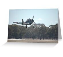 Take-off: Boomerang @ Temora Airshow 2007 Greeting Card