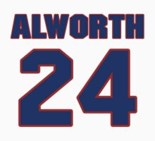 National football player Lance Alworth jersey 24 by imsport
