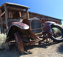 Sagebrush and Rust by Terry Shumaker