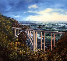 Bixby Bridge by Lynne Wright