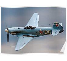 New-build Yakovlev Yak-3UA D-FJAK Poster
