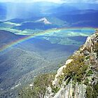 Rainbow - The Gorge by Travis Easton