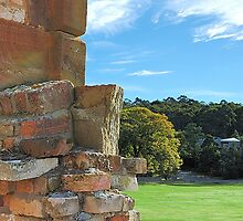 The Pillar of the Community - Port Arthur Historic Site, Tasmania Australia by Philip Johnson